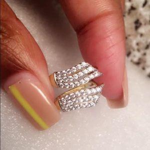 Diamond gold Earrings
